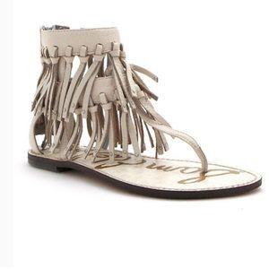 Sam Edelman griffin fringe sandal